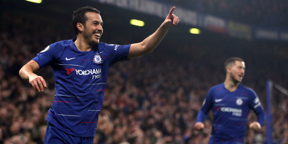 Five of Pedro's most memorable Chelsea moments