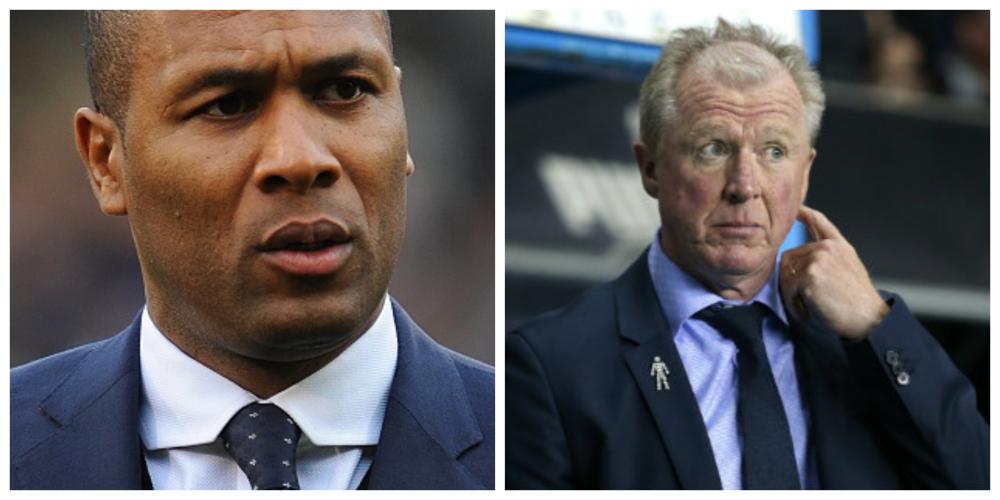 QPR: Les Ferdinand and Steve McCLaren