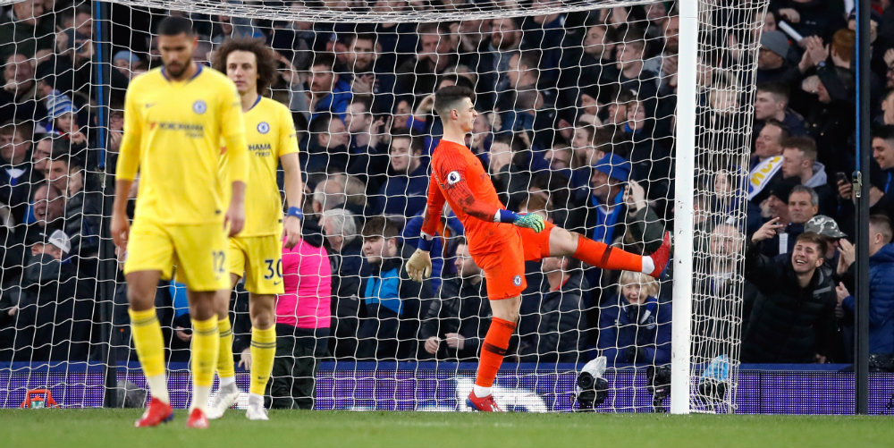 Chelsea slump to defeat at Everton