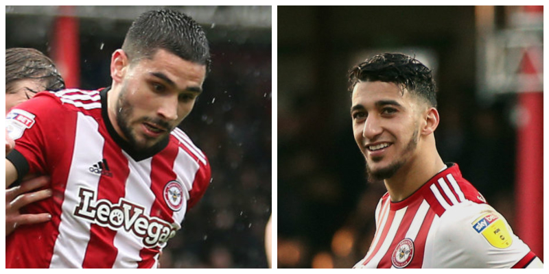 Frank keen to keep Bees stars Maupay and Benrahma