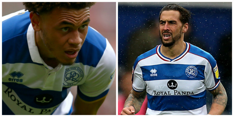 QPR: Luke Amos and Geoff Cameron