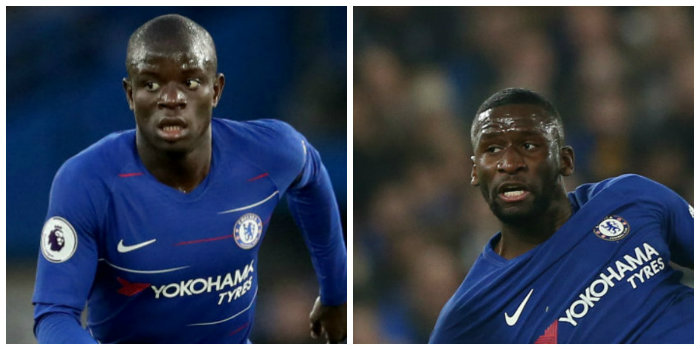 Kante and Rudiger to miss Valencia game