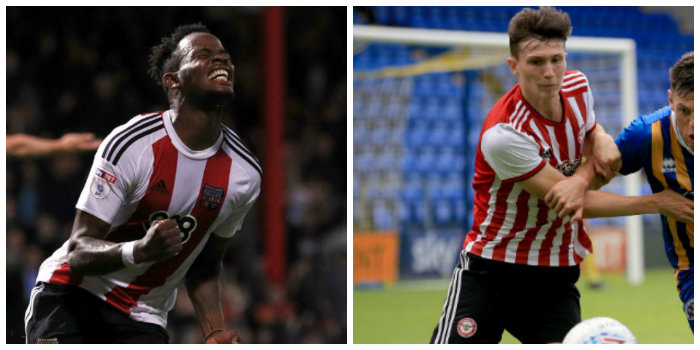 Brentford will listen to offers for Clarke and Field