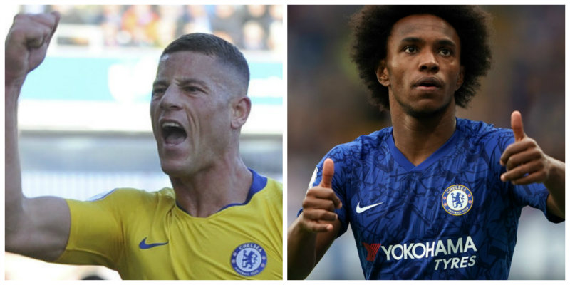 Lampard insists Barkley and Willian will be staying