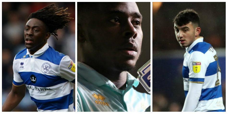 QPR stars Ebere Eze, Bright Osayi-Samuel and Ilias Chair