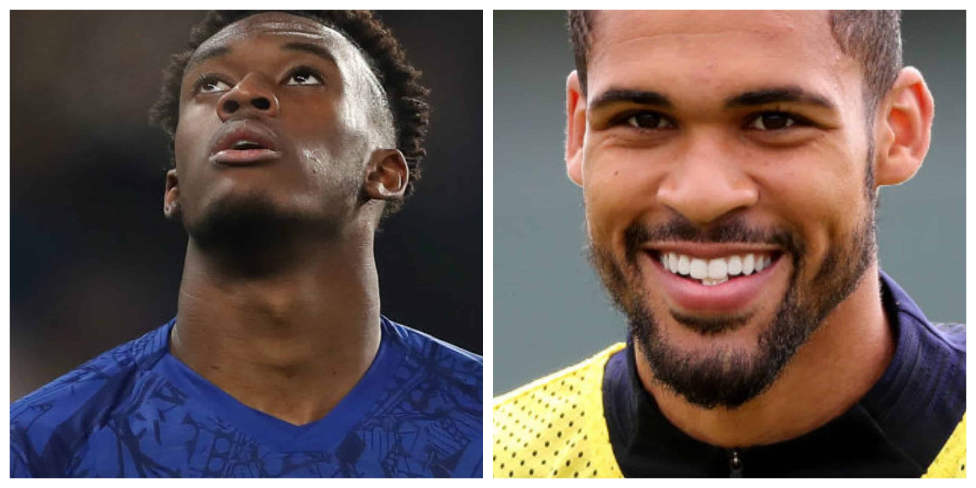 Chelsea: Ruben Loftus-Cheek and Callum Hudson-Odoi