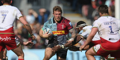 Injury forces Harlequins hooker Crompton to retire