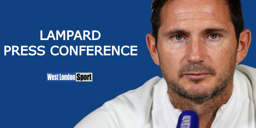Frank Lampard press conference