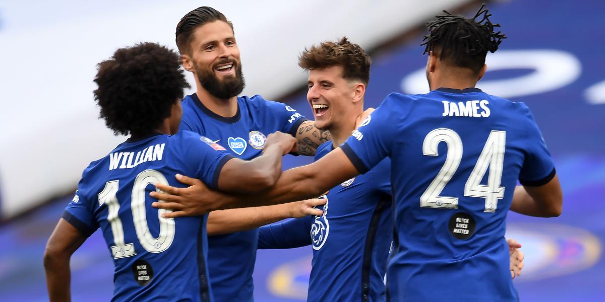 Chelsea: Mason Mount goal