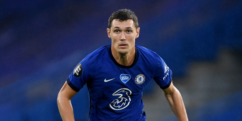 Christensen sent off as Chelsea are beaten by Liverpool