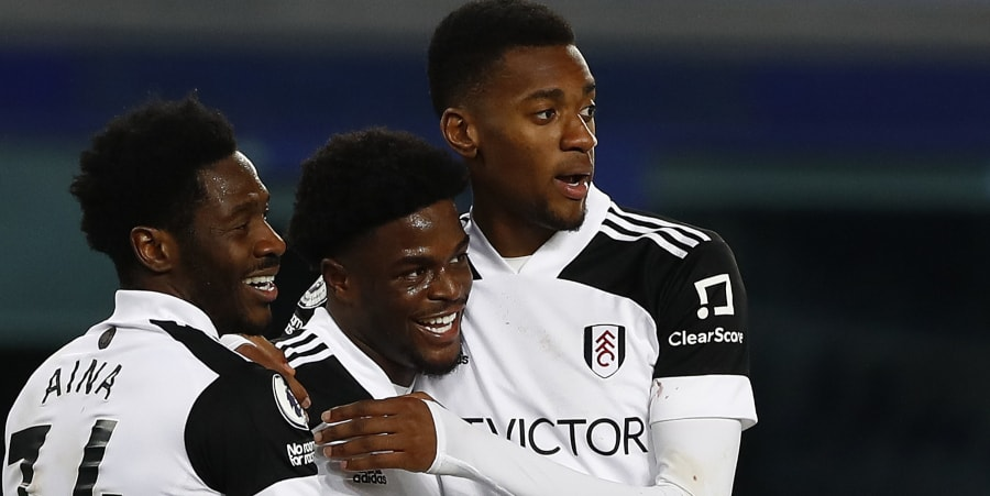 Fulham striker Josh Maja