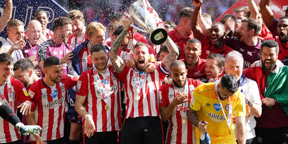 Tears of joy after Bees promotion triumph which was 10 years in the making