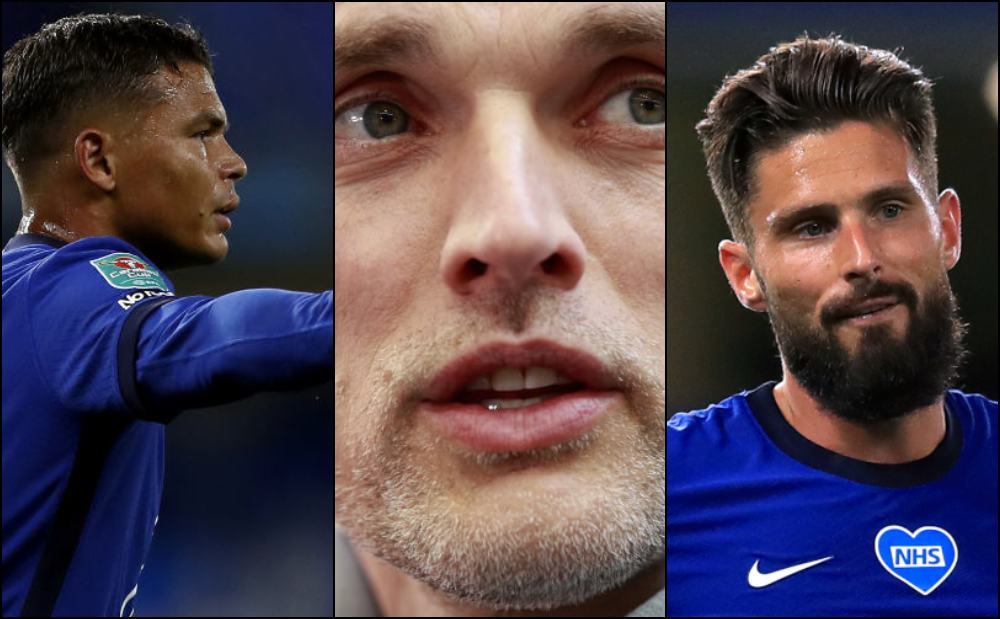 Tuchel, Giroud and Silva sign new Chelsea contracts