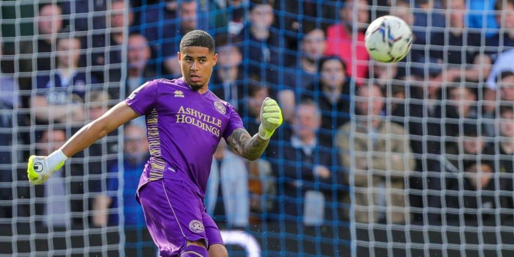 QPR goalkeeper Seny Dieng