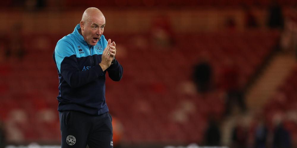 QPR manager Mark Warburton