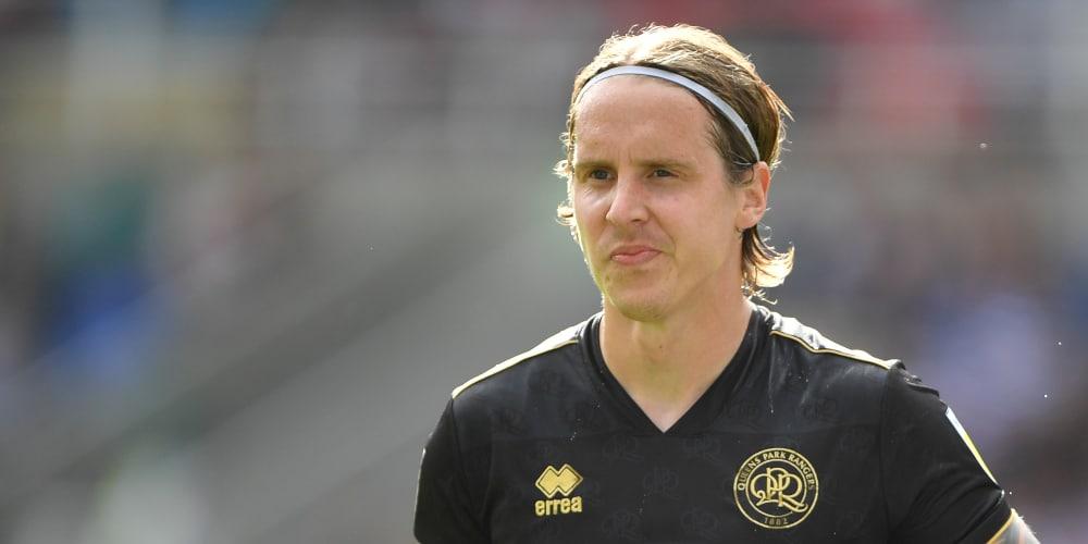 QPR midfielder Stefan Johansen